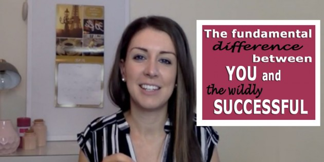 The Fundamental Difference Between You and the Wildly Successful