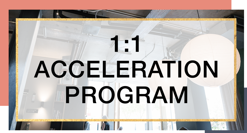 1:1 Acceleration Program