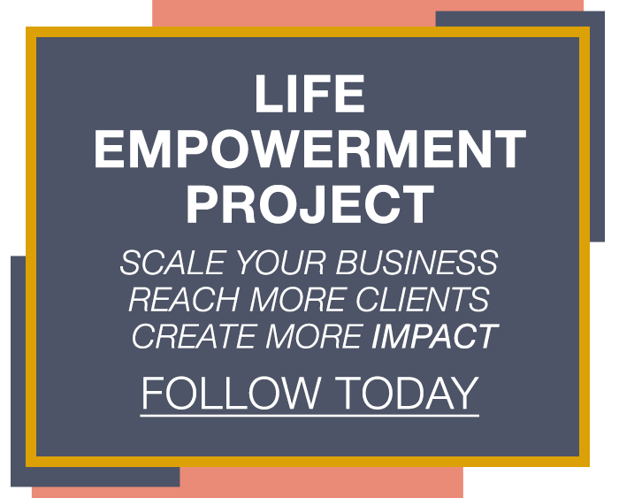 Follow The Life Empowerment Project On Facebook!