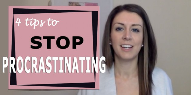 4 Tips To End Procrastination